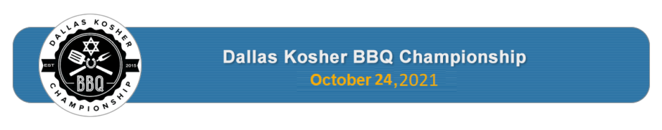 Dallas Kosher BBQ Championship sponsored by Congregation Beth Torah Men's Club